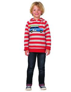 Kinder-Kapuzenpullover Strandexpress - Frugi