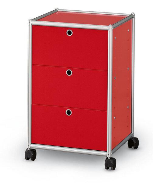 ams m belmanufaktur rollcontainer mit 3. Black Bedroom Furniture Sets. Home Design Ideas