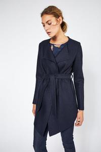 LANIUS - feminine Jacke aus gewalkter Wolle - Lanius