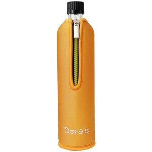 Doras Trinkflasche mit Orange-Bezug - Dora