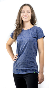 Kipepeo 'Nairobi' Frauen Shirt Charcoal Grey - Kipepeo-Clothing