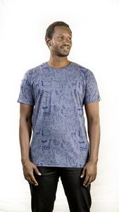 Kipepeo 'Nairobi' Männer Shirt Charcoal Grey - Kipepeo-Clothing