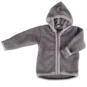 Baby u. Kinder Kapuzenjacke Wollwalk anthrazit iobio - iobio