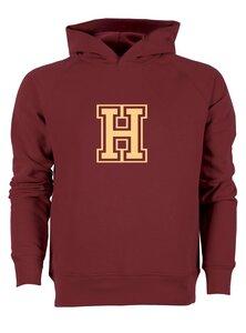 """Herren Hoodie """"College"""" Burgundy - University of Soul"""