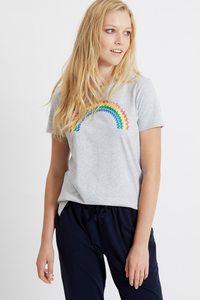 Rainbow Print Tee - People Tree