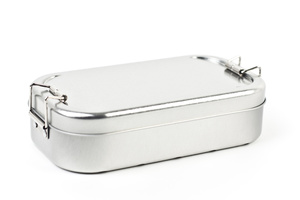 Lunchbox silver - CP Cameleon Pack Lunchbox