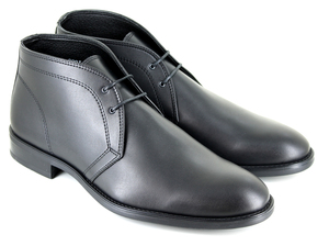 Suit Boot (Black) - Vegetarian Shoes