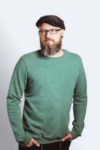 Sweater Men 'Heada' grün meliert, GOTS - Frija Omina