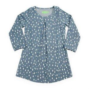 Dress Alizee Jacquard raindrops - Lily Balou