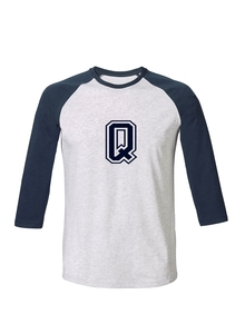 "Unisex T-Shirt ""College"" Heather Ash / Navy - University of Soul"