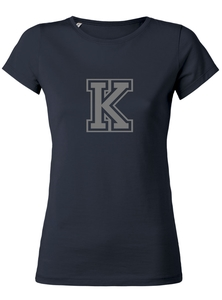 "Damen T-Shirt ""College"" Navy - University of Soul"