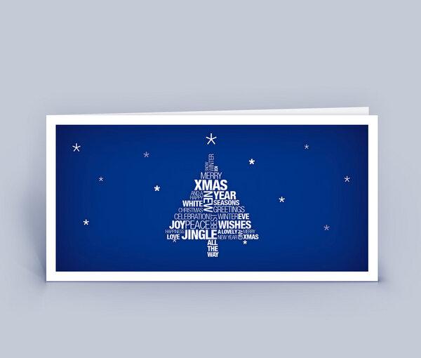 eco cards weihnachtskarten din lang mit wortwolke. Black Bedroom Furniture Sets. Home Design Ideas