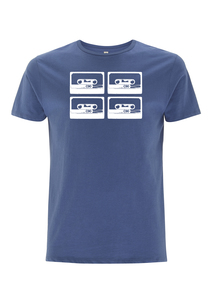 4Tapes Herren T-Shirt Organic & Fair Wear _denim - ilovemixtapes