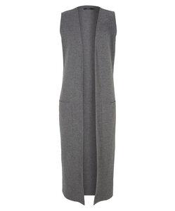 Long-Weste aus Bio-Wolle (kbT) - Lana naturalwear