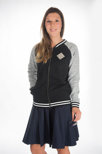 Damen College Jacke 'School of Rock' - ecolodge fashion