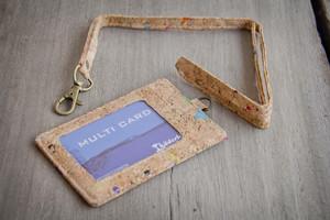 Kartenhalter aus Kork, Ausweishülle, handgemacht - By Copala