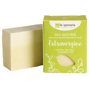 BIO Seife mit nativem Olivenöl 100g - laSaponaria