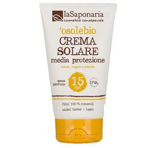 BIO Sonnenschutzcreme LSF 15 125ml - laSaponaria