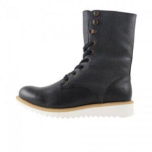 FAIR - Comfy Lace-up Boots black - Fair