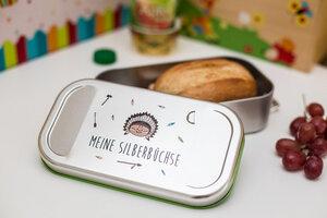 Lunchbox Meine Silberbüchse - tindobo