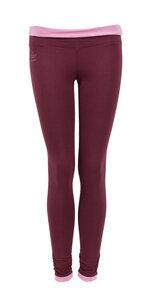 Leggings Soa, burgundy - Jaya