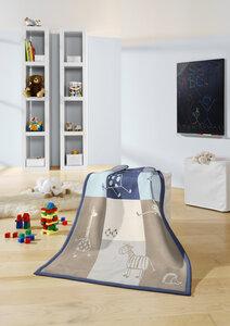 Babydecke und Kinderdecke Lovely & Sweet COMIC 75 x 100 cm  - biederlack