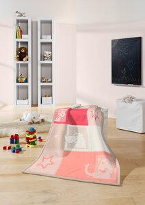 Babydecke und Kinderdecke Neu 2017 Zoo 75 x 100 cm  - biederlack