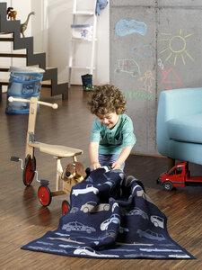 Babydecke und Kinderdecke Lovely & Sweet Freeway 75 x 100 cm  - biederlack