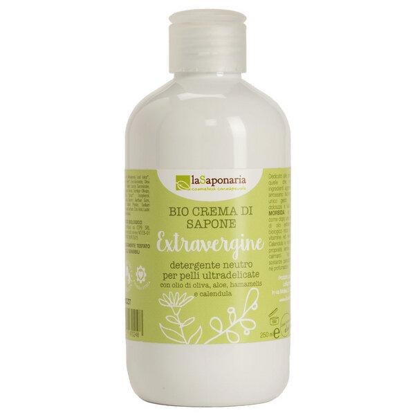 Bio Creme-waschlotion Mit Nativem Olivenöl 250ml
