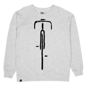 Malmoe Sweatshirt Bike Front - DEDICATED
