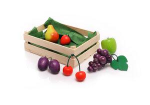 Sortiment Heimisches Obst aus Holz für den Kaufladen - NATUREHOME