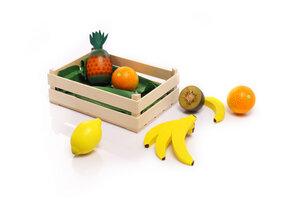 Sortiment Südfrüchte aus Holz für den Kaufladen - NATUREHOME