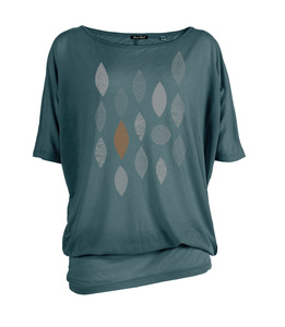 T-Shirt Stream Abstract Forms - GreenBomb