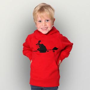 'HexiHex' Kinder-Hoody Fairwear Organic - shop handgedruckt