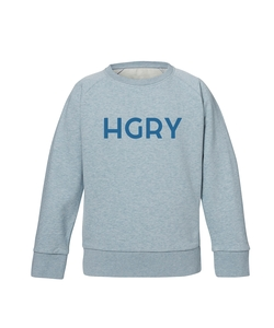 Unisex Kids Sweatshirt 'Hungry' - University of Soul