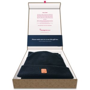 Gift Box Hat & Scarf - KnowledgeCotton Apparel