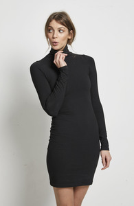 ORGANIC TURTLENECK MINIDRESS  - Hati-Hati