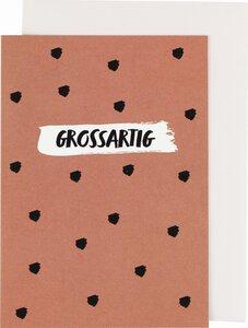 """Grußkarte """"GROSSARTIG"""" - ava&yves"""