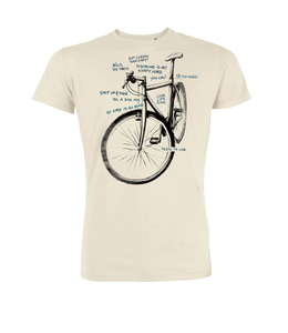 T-Shirt Guide Bike Scratch - GreenBomb