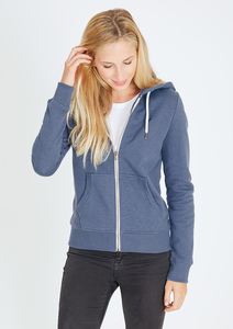 Basic Zipper #SLUB hell blau - recolution