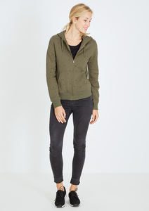 Zipper Basic #STARS olive grün - recolution