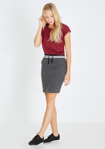 Sweatskirt Rock anthracite grau - recolution