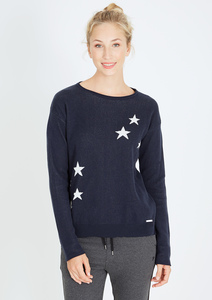 Crew Neck #STARS navy blau - recolution