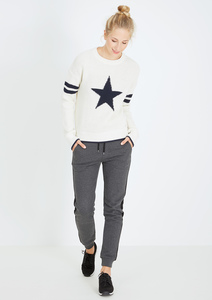 Crew Neck #STAR'N'STRIPES weiß - recolution