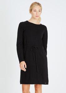 Knitted Dress schwarz - recolution
