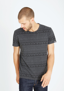 T-Shirt Basic #AZTEC grau - recolution