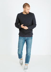 Sweatshirt #WAFFLE blau - recolution