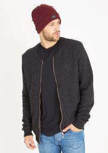 Zipper College Jacke  #WAFFLE schwarz - recolution