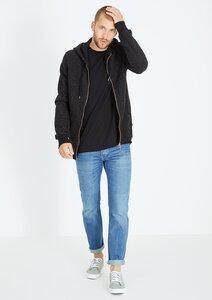 Zipper Basic  #WAFFLE schwarz - recolution