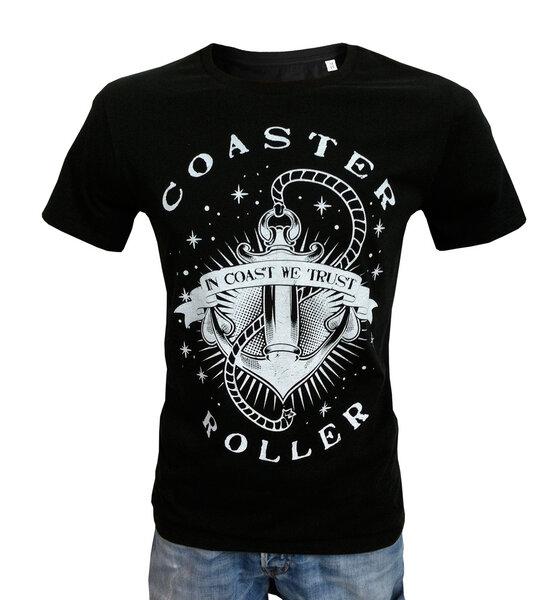 bb8f9b1d529b5d Coaster Roller - Herren T-Shirt Anker